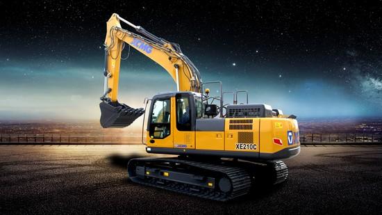 XCMG XE210C excavator