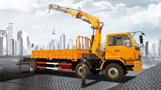 1 XCMG SQZ200K truck-mounted crane