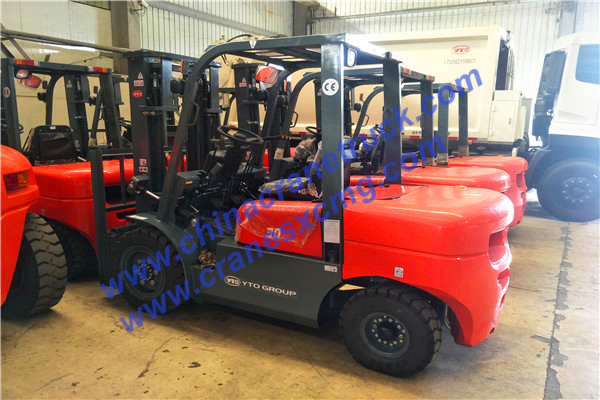 Customer order 3-5 ton forklift