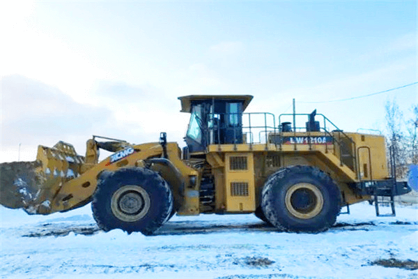 20,000 hours +, arctic land, XCMG wheel loader interpretation with not destroyed