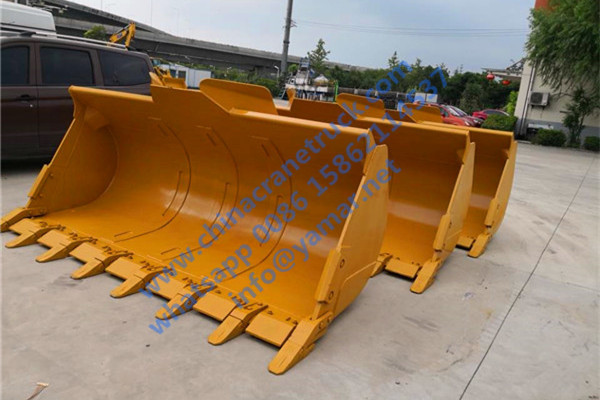 XCMG wheel loader rock bucket