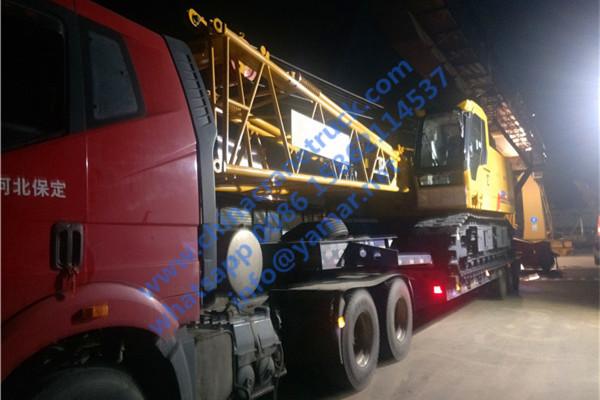 85 ton crawler crane