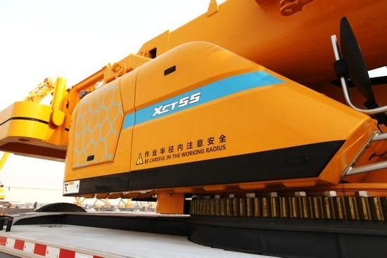 XCMG 55 ton truck crane XCT55L5 (2)