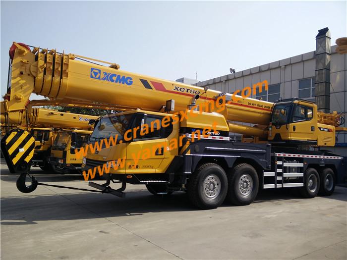 XCMG XCT80 truck crane