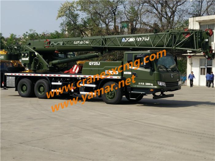 XCMG QY25J truck crane