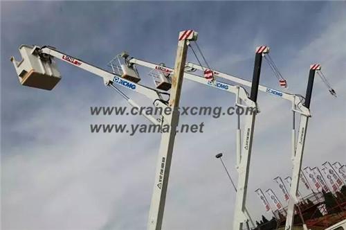 XCMG aerial working platform in Bauma Africa