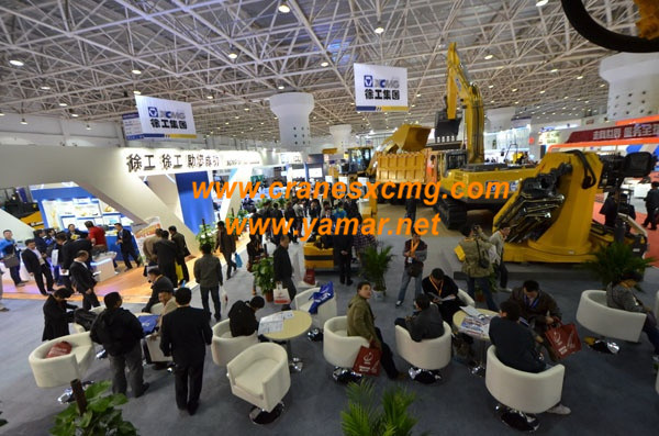XCMG in Beijing Construction Machinery Show