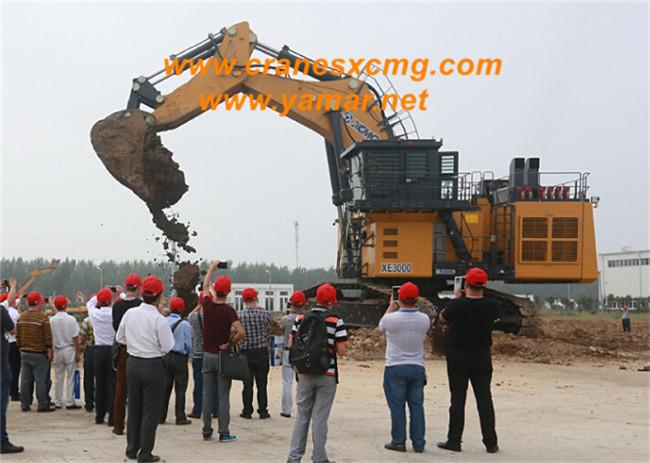 300 ton excavator model XE3000