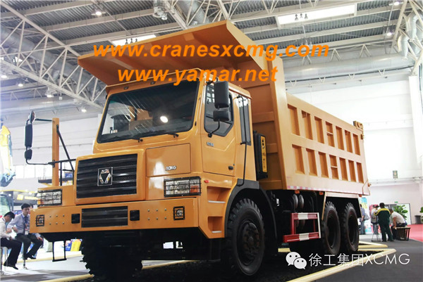 XCMG all wheel drive off-road dump truck