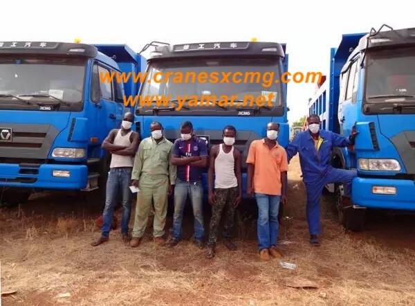 xcmg dump trucks at keller tower (4)