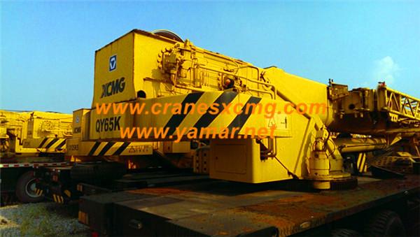 XCMG used 65 ton truck crane photo