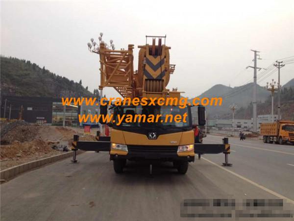 export XCMG 50 ton truck crane QY50KA (2)