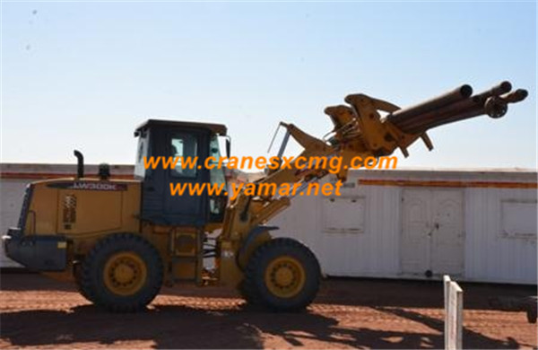 XCMG 3 ton wheel loader LW300KN with clamp (2)