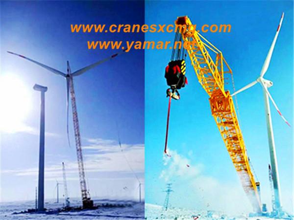 XCMG XGC800 crawler crane