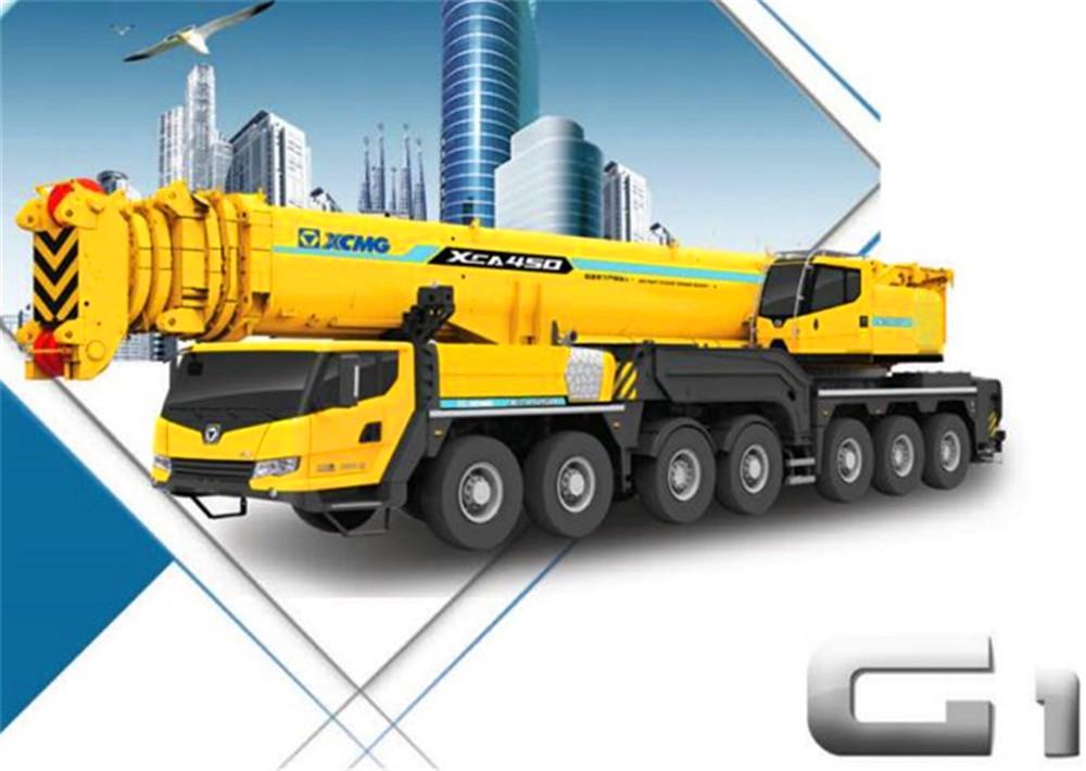 supply XCMG 350 ton all terrain crane XCA350 from Changzhou