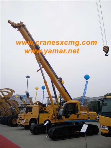 XCMG 25 ton telescopic crawler crane XGC25T (2)
