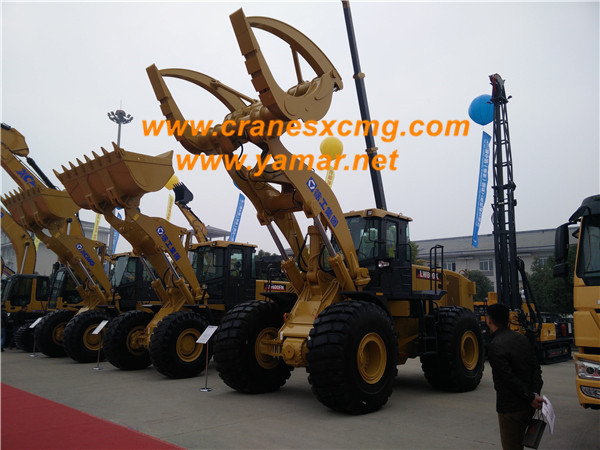 XCMG wheel loader with fork