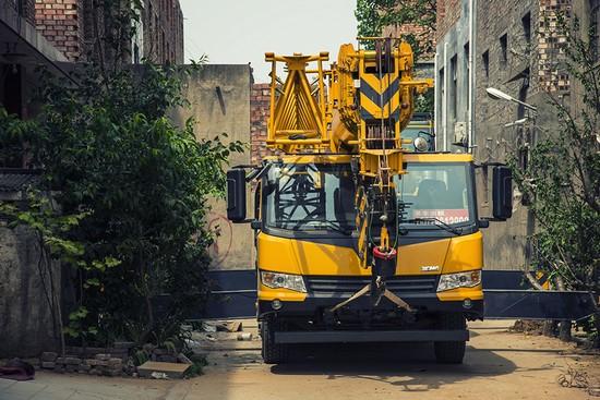 XCMG XCT truck crane