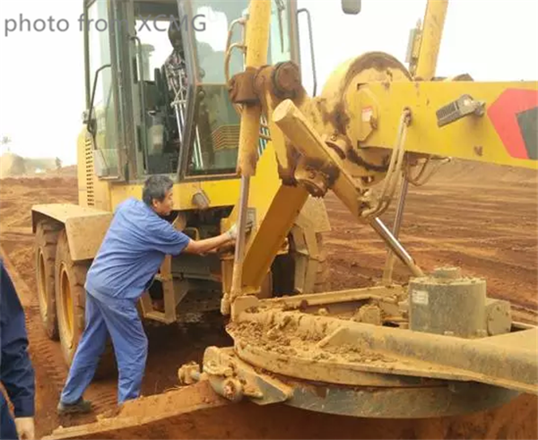 XCMG after sale service in Africa