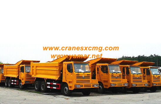 XCMG 76 ton off road wide body dump truck
