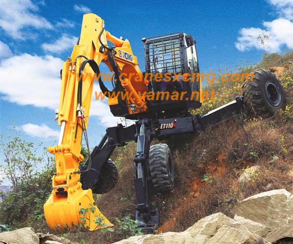XCMG mobile walking excavator ET110