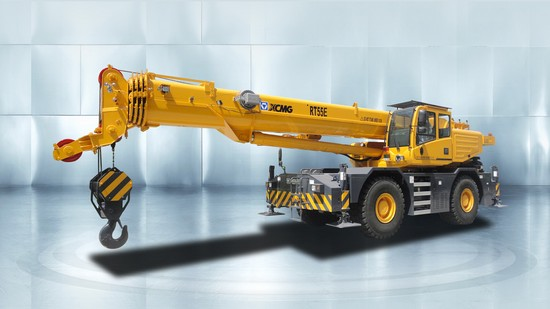 XCMG RT55E Rough terrain crane