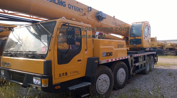 XCMG truck crane for oil field QY60KT