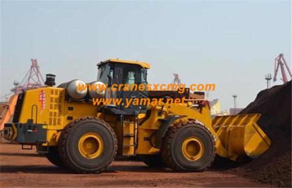 XCMG 8 ton wheel loader LW800K LNG model (4)