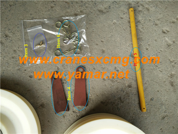 xcmg truck crane pulley (3)