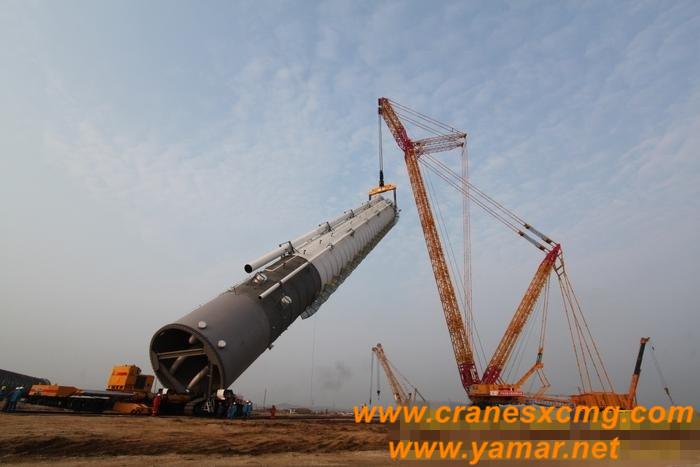 XCMG 4000 ton crawler crane (2)
