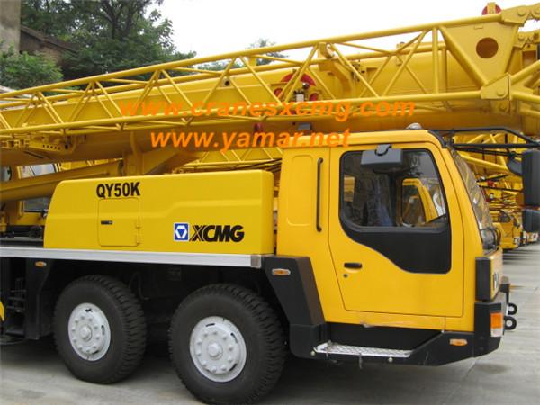 XCMG 50 ton truck crane QY50K