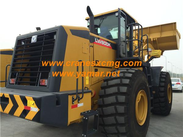 XCMG 8 ton wheel loader LW800K FOB price 241000 USD