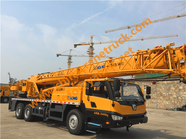 XCMG QY25K-II export to Saudi Arab
