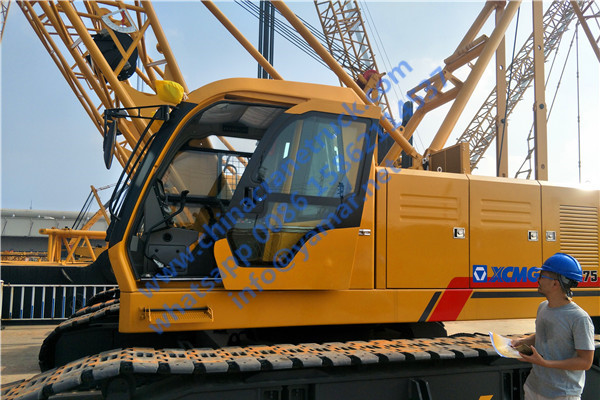 XCMG 75 ton crawler crane