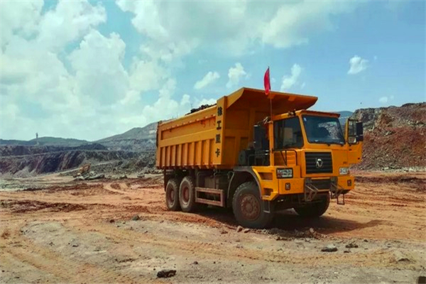 XCMG 90T dump truck