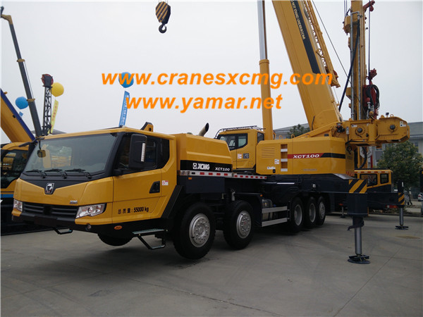 XCMG 100 ton truck crane XCT100-1