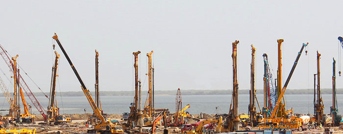 XCMG rotary drill in Pakistan