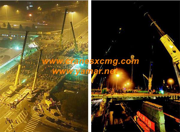 XCMG all terrain cranes make new record in Beijing