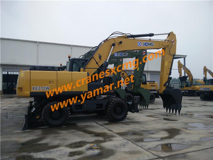 XCMG wheel excavator XE210W