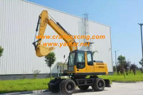 XCMG 15 ton Wheel excavator
