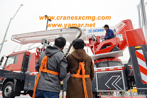 XCMG Aerial Fire Fighting platform truck DG32K1