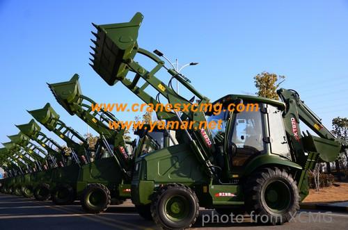 xcmg backhoe loader for oil field (2)
