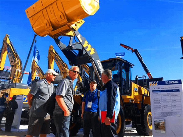 XCMG machines show in Conexpo-Con/Agg of Las Vegas