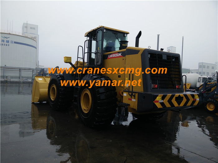 XCMG 8 ton wheel loader model LW800K (1)