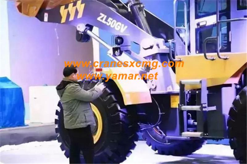 XCMG Euro3 engine loader ZL50GV