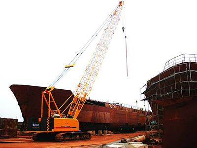 XCMG 50 ton crawler crane QUY55