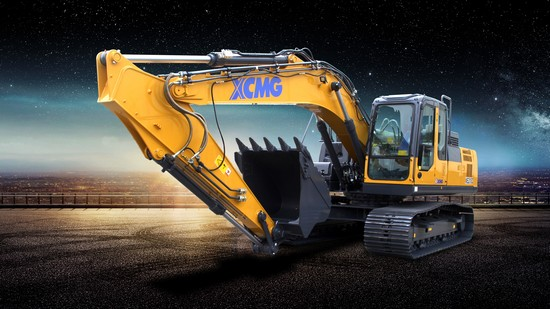 XCMG excavator XE210C
