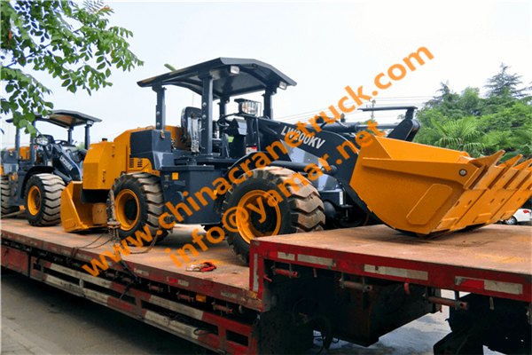 LW200KV mining wheel loader for tunnel