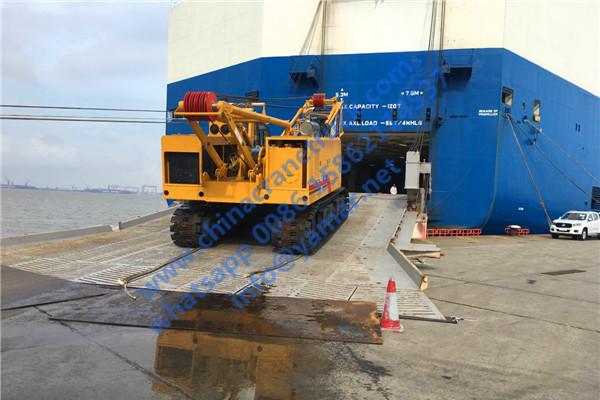 XCMG 75 ton crawler