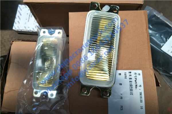 Customer order crane lights for his XCMG QY50K
